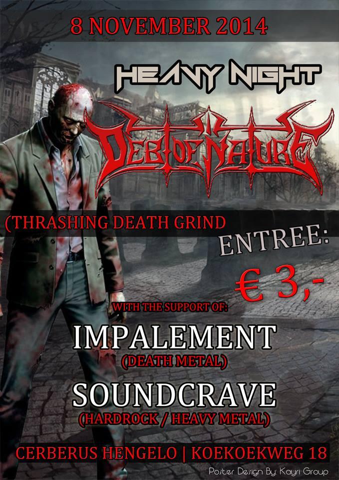 SoundCrave Heavy Night Cerberus 08-11-2014