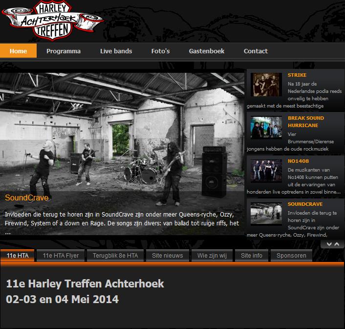 SoundCrave Harley Treffen 2 mei 2014